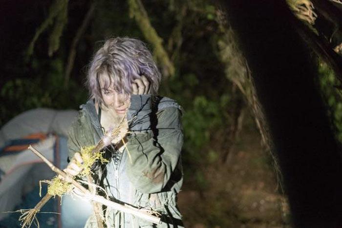 Una scena dal film Blair Witch