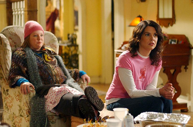 Lorelai e Suki in una scena di Una Mamma per Amica