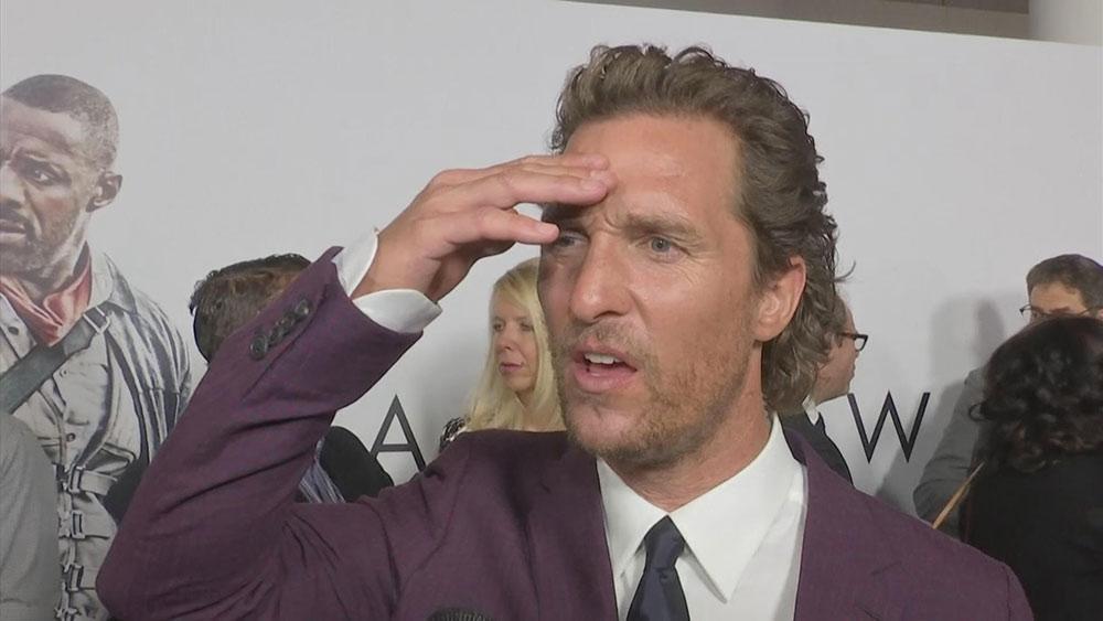 Matthew McConaughey sconvolto in diretta per la morte di Sam Shepard!