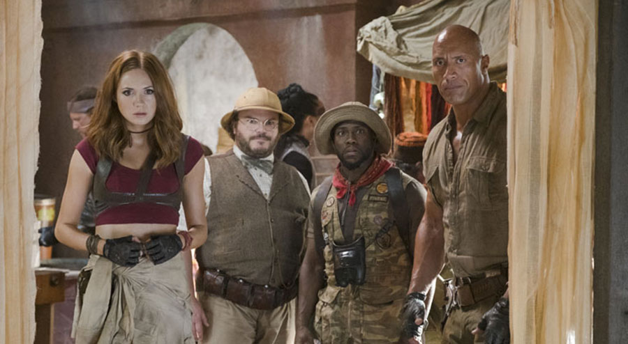 Jumanji: Welcome to the Jungle, il nuovo trailer dell'atteso