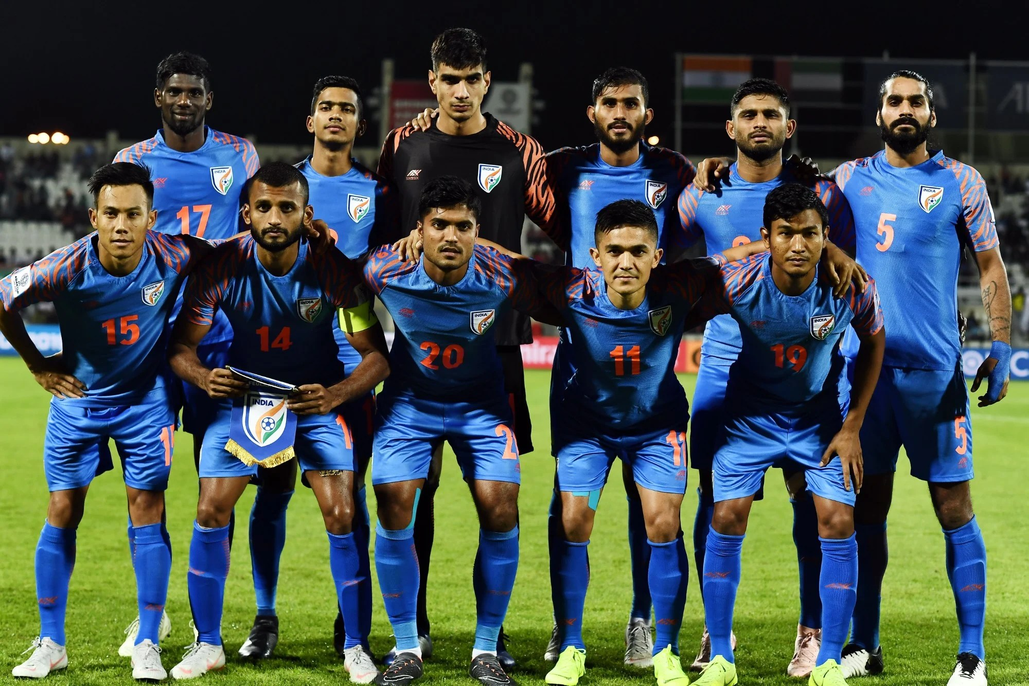 Indian Football India Climbs Two Places In Fifa Rankings