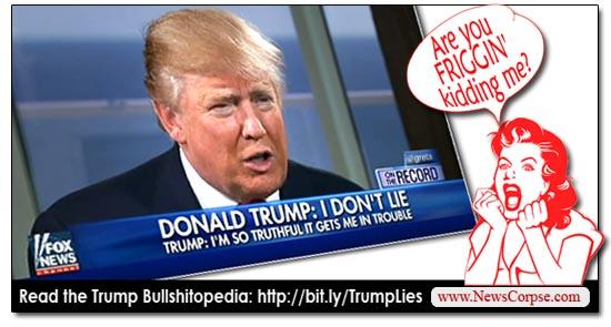 Donald Trump's Bullshitopedia: An Ever Expanding Catalog ...