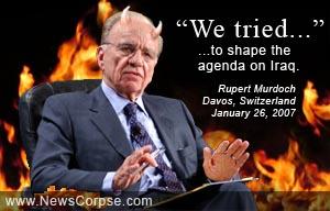 Rupert Murdoch in Davos