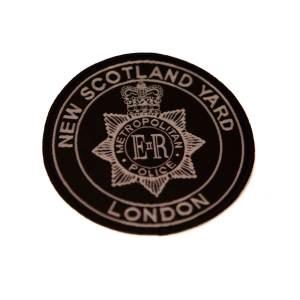 Scotland Yard Sew-on Patch