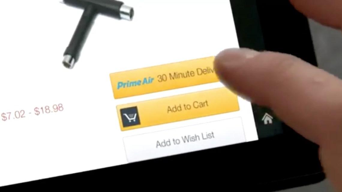 Amazon Prime Air: Lieferdrohne bereits in der 8. Generation – Verfügbar ab 2015?