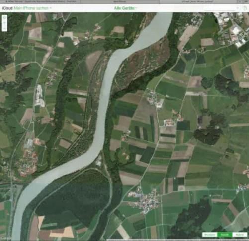 Find my iPhone - Hier noch mit Google Maps