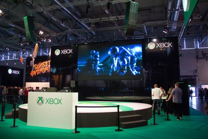 Microsoft Xbox One auf der GamesCom 2014