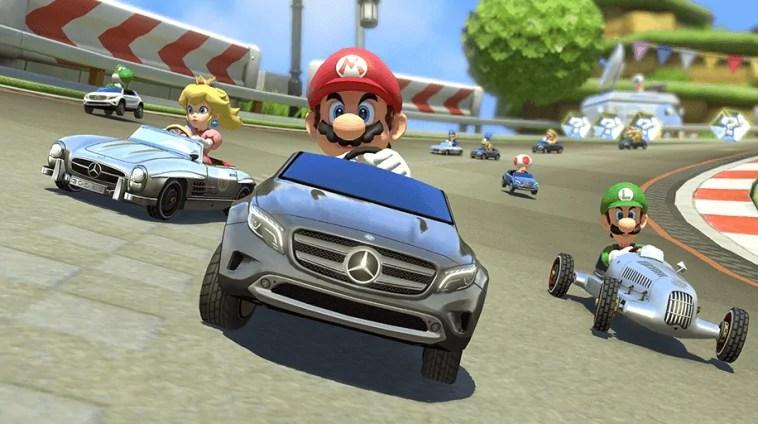 Mercedes-Benz DLC und Verbesserungen für Mario Kart 8 ab 27. August