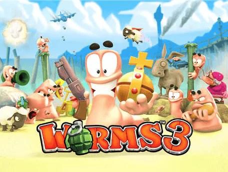 Worms 3 derzeit reduziert im App Store