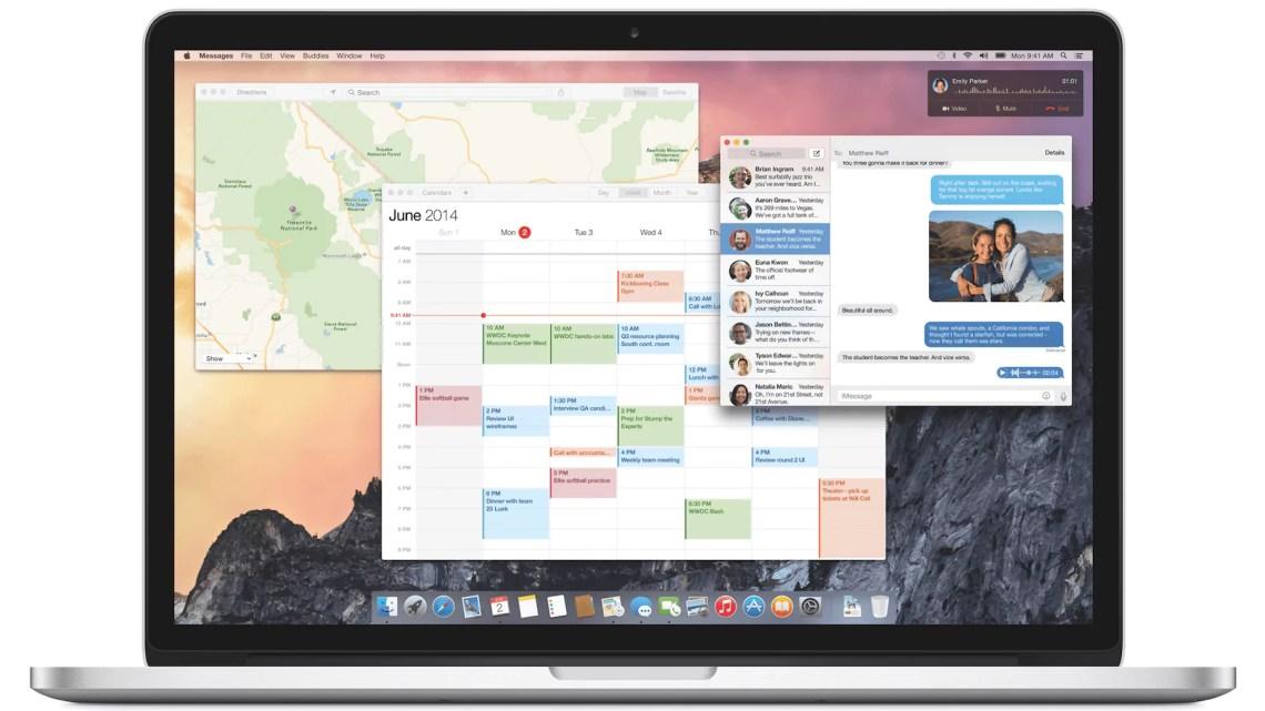 OS X Yosemite: Heute im App Store und natürlich Kostenlos mit iWork