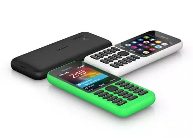 Microsoft stellt WebHandy Nokia 215 für 39 Euro vor