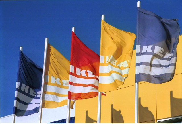 IKEA Fahnen (Bild: Bildquelle: IKEA / Helmut Stettin)