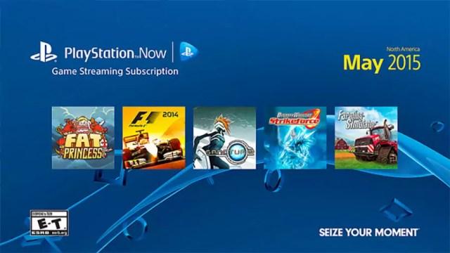 PlayStation Now PSNow