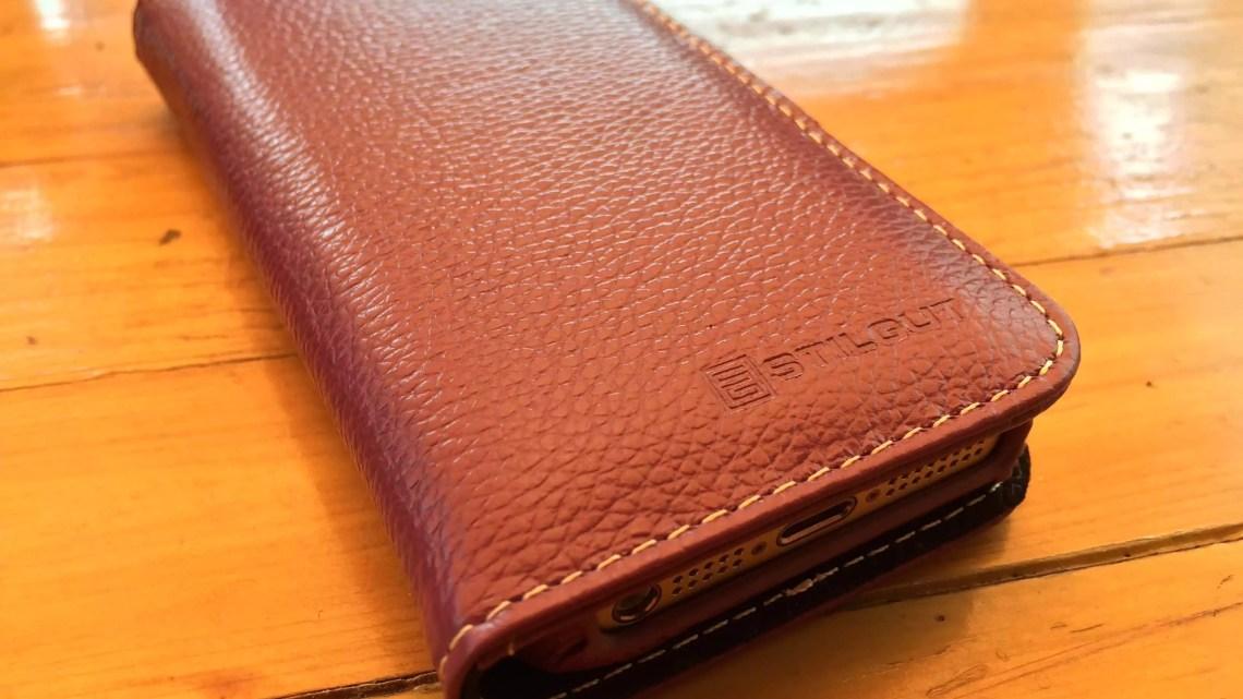 StilGut Ledertasche Talis v2 für iPhone 5 und iPhone 5s im Review