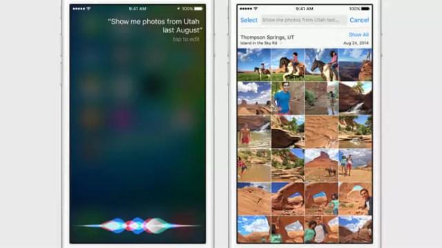 iOS 9 - Siri UI