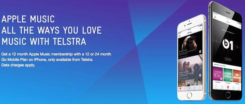 Apple Music und Telstra