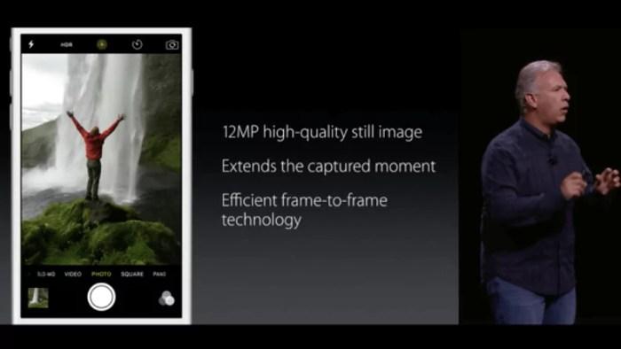 Live-Photo, Apple iPhone 6s