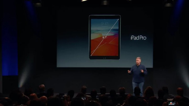 Apple Keynote: Apple stellt kleineres iPad Pro vor