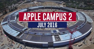 Apple Campus 2 Spaceship - Juli 2016