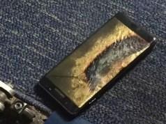 Samsung Galaxy Note 7 fängt Feuer