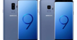 Samsung Galaxy S9 & S9+ in Blau