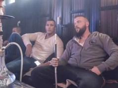 Kollegah und Farid Bang in der Shisha Bar