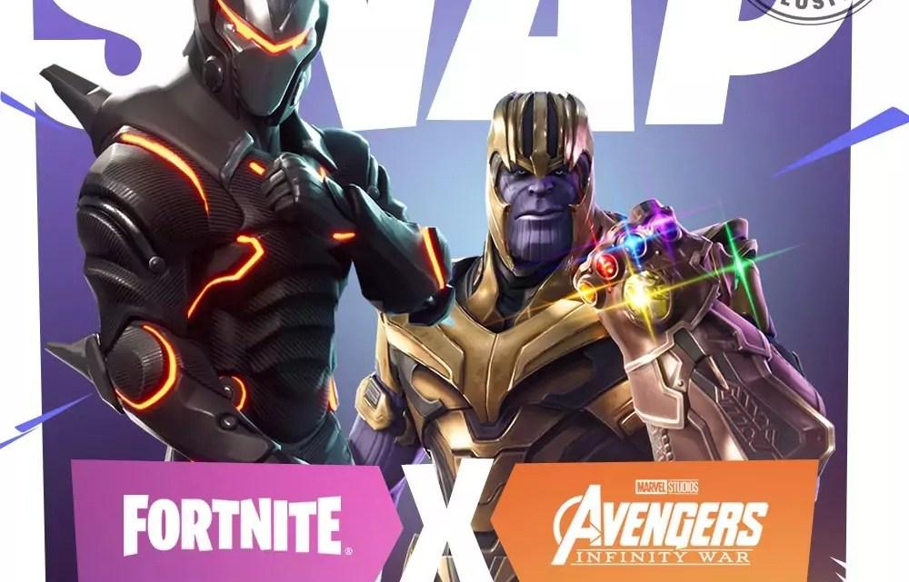 """Fortnite: Neuer """"Infinity Gauntlet""""-Modus mit Super-Schurke Thanos"""