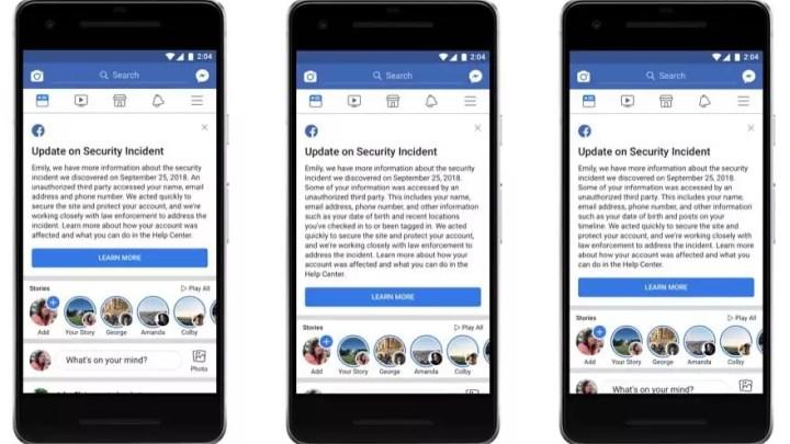 Facebook-Hacker konnten auf personenbezogene Daten zugreifen