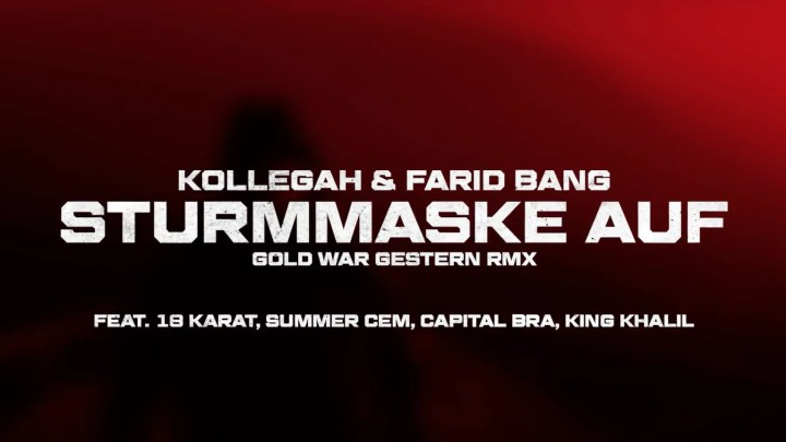 Kollegah & Farid Bang – Sturmmaske auf RMX (Video)