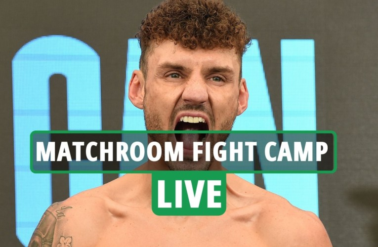 DAZN live stream, TV channel, ring walk time, undercard