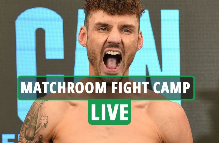 Xu Can vs Leigh Wood Matchroom Fight Camp LIVE RESULTS: DAZN stream, TV, ring walks