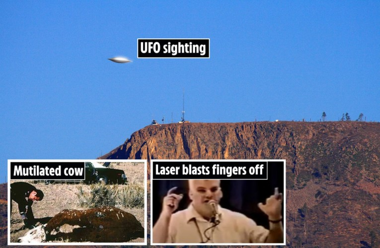 Inside mysterious Dulce 'UFO base' where conspiracy theorists claim 60 US troops were killed by aliens in secret war