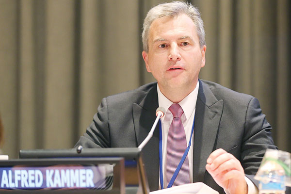 IMF deputy director of strategy, policy and review, Alfred Kammer
