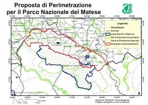 Mappa Parco Matese