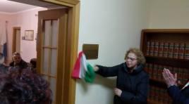 Scapoli: la sala consiliare intitolata a Filiberto Ricci.