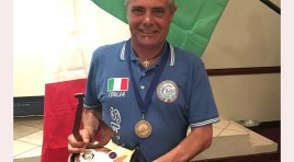 Pesca a mosca: Armando Di Giacomo torna dal Sudafrica con la medaglia di bronzo a squadre con la nazionale italiana.