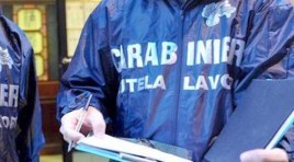 Venafro: Programma anti caporalato dei Carabinieri dell'Ispettorato del lavoro. Sanzionato il titolare di un esercizio pubblico.
