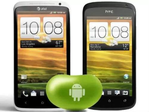 Android 4.1.1 Jelly Bean è ora disponibile per HTC One S