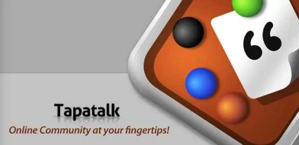 Arriva Tapatalk HD beta per navigare nei forum con il Tablet!