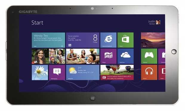 CES 2013: Gigabyte presenta 2 nuovi Tablet Windows 8 da 11.6″ 1080p con Cpu Ivy Bridge