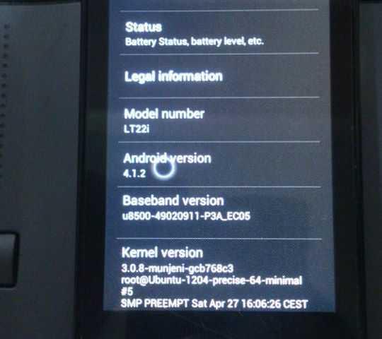 Sony Xperia U riceve il porting Jelly Bean 4.1.2!
