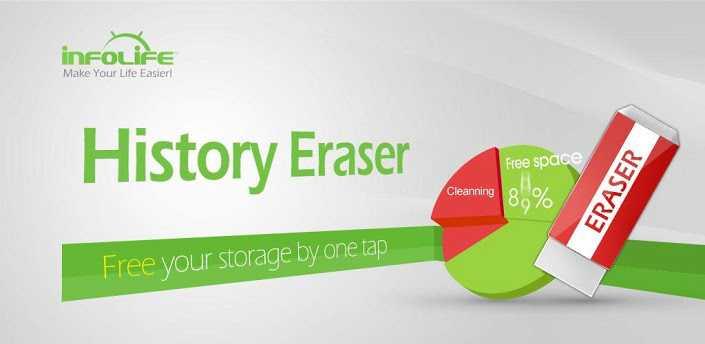App del Giorno: History Eraser