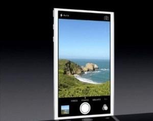 iOS 7 Fotocamera