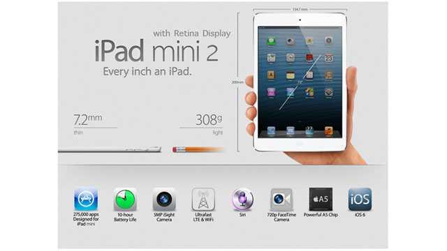 iPad Mini 2 | Problemi di disponibilità per il periodo di natale per colpa del display Retina?