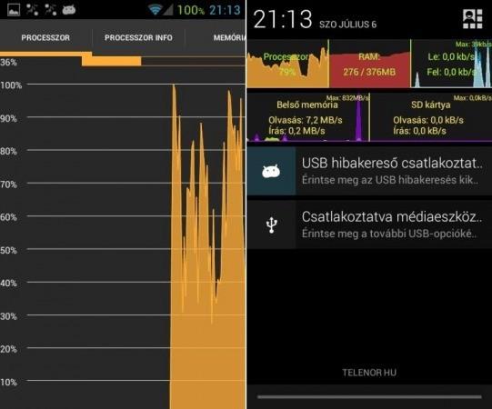 Usemon le statistiche del nostro smartphone Android a portata di mano!