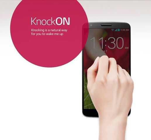 Knock Knock: come accendere l'LG G2 senza utilizzare il pulsante di accensione
