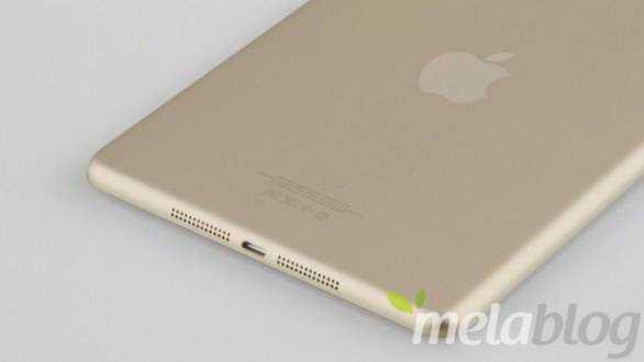 iPad mini 2, trapelano nuove scocche dorate..