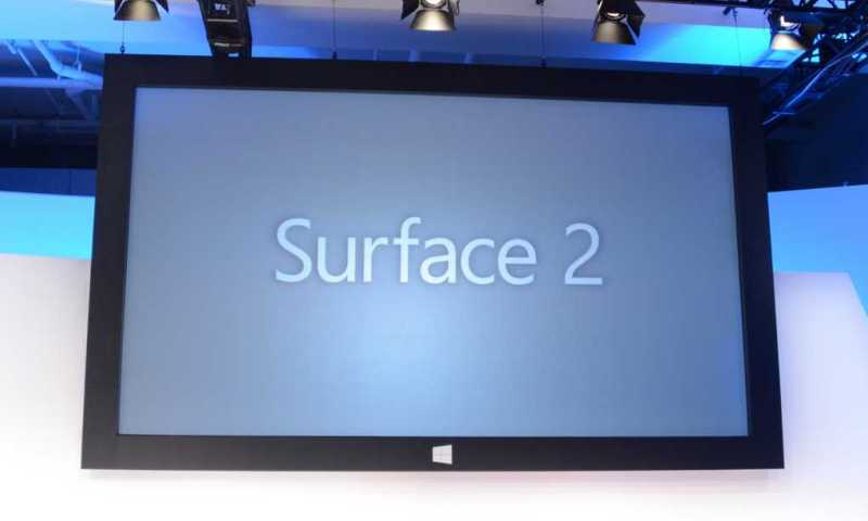Microsoft Annuncia Surface 2