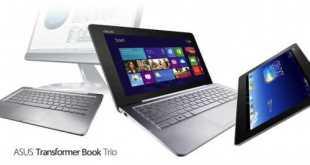 IFA 2013  ASUS Transformer Book Trio : Tablet, Notebook e PC Desktop tutti in uno!