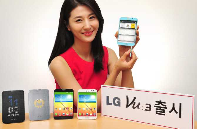 LG annuncia il nuovo phablet Vu 3